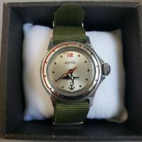 Wrist Watch Vostok Komandirskie USSR  Mechanical Men's / Serviced