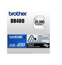 Brother DR400 Black Drum Cartridge Yields 20K Pages For DCP-1200 HL-1230