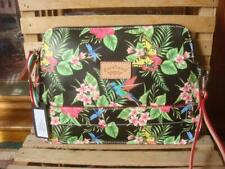baa2499ddc NWT~ CAVALCANTI MADE IN ITALY TROPICAL FLORAL BUTTERFLY NAPPA LEATHER  WRISTLET