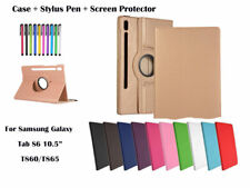 360 Rotate PU Leather Case Cover for Samsung Galaxy Tab S6 10.5(2019) T860 T865