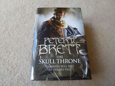The Skull Throne by Peter V Brett -  NEW HB signed, stamped & numbered (12/25)