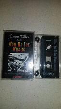 war of the worlds music cassette read by Orson Welles