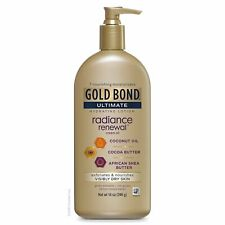 Gold Bond Ultimate Radiance Renewal 1 Count COCONUT OIL, SHEA BUTTER & COCOA ...