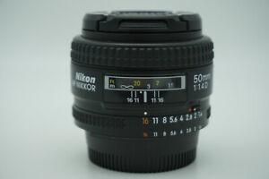 Nikon AF Nikkor 50mm f1.4D Lens