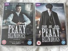 PEAKY BLINDERS : THE COMPLETE SERIES 1 & 2 DVD (FREE UK P&P) SUPERB CERT 18 GR8