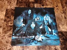 "The Scream Signed 12"" Vinyl Record Man In The Moon John Corabi Motley Crue Ratt"