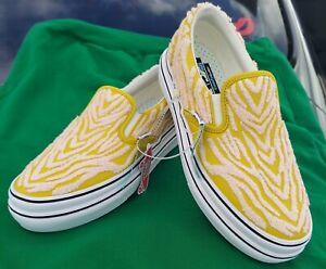 Vans Vault Super Comfy Cush Slip-On LX Yellow men's 8/ women's 9.5