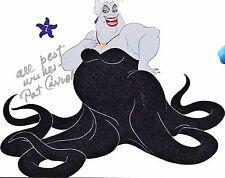 Pat Carroll signed 8x10 Little Mermaid Ursula photo / autograph