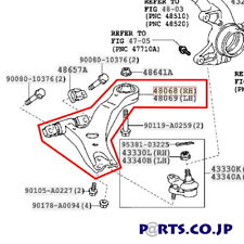 TOYOTA 4806808040 GENUINE OEM CONTROL ARM Free Ship From JAPAN