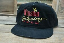 Vintage WINSTON RACING TEAM SnapBack Trucker Hat Cap