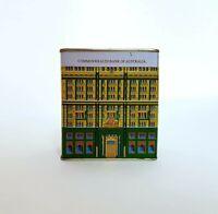 Commonwealth Bank Of Australia Tin Money Box Tin Building Vintage RARE
