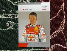2005 DTM AUDI SPORT DRIVER INFO CARD - MATTIAS EKSTROM