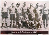 1.FC Nürnberg + Deutscher Fußball Meister 1948 + Fan Big Card Edition F93 +