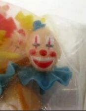 Wilton Derby Clowns Pack Of 6 Cupcake Birthday Cake Toppers
