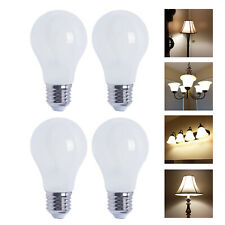 A19 LED 800 Lumen Light Bulb 2700K Warm White 6.5W - 60W Equivalent E26 (4-Pack)