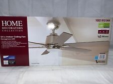 Home Decorators Collection Kensgrove 54 in. Integrated LED Brushed Nickel ... F3