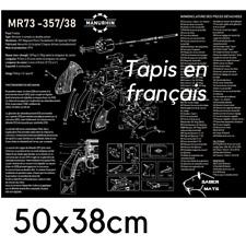 TAPIS DE NETTOYAGE MANURHIN MR73 en français !