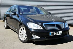 2006 MERCEDES-BENZ S CLASS 5.5 S500 L 7G-TRONIC 4DR LIMO **ONLY 9500 MILES!**