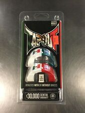 Tapout Mouthguard Adult Ages 12+ Flag Green/White/Red