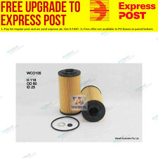 Wesfil Oil Filter WCO105 fits Hyundai i30 1.6 CRDi (FD)
