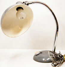 ANCIENNE LAMPE en METAL ARTICULEE D'ATELIER D'USINE-VINTAGE DESIGN INDUSTRIEL