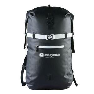 New Caribee Trident 2.0 32L Waterproof Backpack Gear Sack Roll Top Closure BLACK