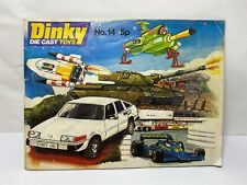 Dinky Toys Catalogue No 14 - Near Mint Old Shop Stock 1978