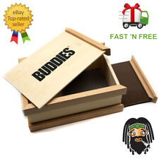 BUDDIES Wooden Sifter Box - Easy Pollen Screen Collector Pollinator Magnetic