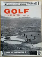 Pebble Beach: Golf Illustrated Magazine 1965