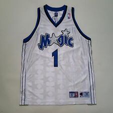 100% Authentic Tracy Mcgrady Tmac Champion Orlando Magic Home NBA Jersey 48 XL