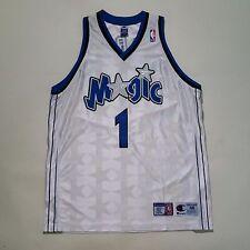 100% Authentic Tracy Mcgrady Tmac Champion Orlando Magic Home NBA Jersey 48 XL