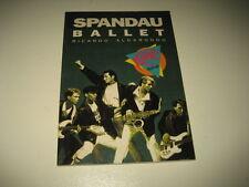 Libro SPANDAU BALLET Per Ricardo Aldarrondo Collezione Video Rock Salvat anno