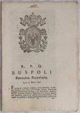 SENTENZA SACRA ROTA BOLOGNA FRUTTI CENSUALE NEPOTE GIUSEPPE MARISCOTTI 1828