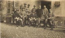 FOTO MILITARE 440 COMPAGNIA MITRAGLIATRICI A SAN CARLO CANAVESE 1917 WWI REGIO