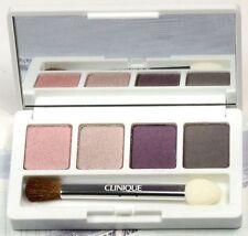 New! Clinique Colour Surge Eye Shadow Quad previous pink/dawn/deep purple/slate