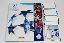 Panini UEFA CHAMPIONS LEAGUE 2012/2013 12/13 – 50 TÜTEN PACKETS + EMPTY ALBUM