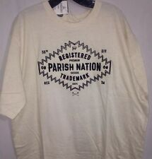 Parish Nation.. Men's Crew Neck T-Shirt .. Oatmeal.. Size XL..  NWT