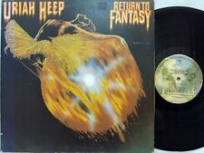 URIAH HEEP - Return to Fantasy LP (RARE US Pressing on WARNER Bros./Gatefold)