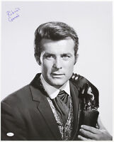 "1965-69 Robert Conrad ""The Wild Wild West"" Signed LE 16x20 B&W Photo (JSA)"
