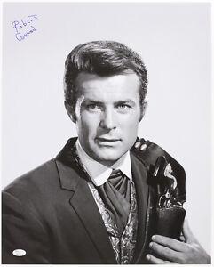 "1965-69 Robert Conrad ""The Wild Wild West"" Signed LE 16x20 B&W Photo (JSA)"