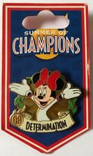 Disney Summer of Champions Determination Minnie Mouse Pin