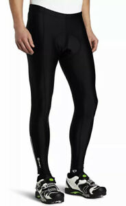 Canari Pro Elite Gel Cycling Tights Padded Pants Black Reflective Men's Size XL