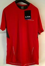 Dare2b Volition Mens Wicking Sports,CYCLING  Exercise Base Layer T-Shirt RED XL