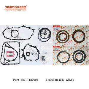 A4LB1 Auto Transmission Repair Master Kit For DAIHATSU TOYOTA Gearbox T12700B