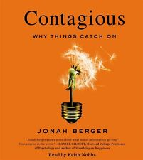 NEW! Contagious: Why Things Catch On by Jonah Berger [Audiobook] [Unabridged]