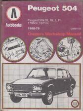buy peugeot workshop manuals 1979 car service repair manuals ebay rh ebay co uk