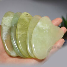 Gua Sha Traitement Massage Chinois Naturel Jade Plaque Estampage Outil Salon