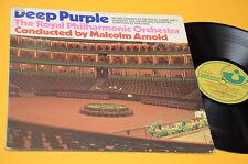 DEEP PURPLE LP IN  LIVE CONCERT ORIG OLANDA 1970 GATEFOLD LAMINATED COVER