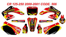 566 HONDA CR 125-250 2000-2001 Autocollants Déco Graphics Stickers Decals Kit