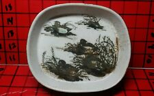 Royal Copenhagen Nils Thorsson Ducks Fajance Bowl Pin Dish/Tray 1048 5303